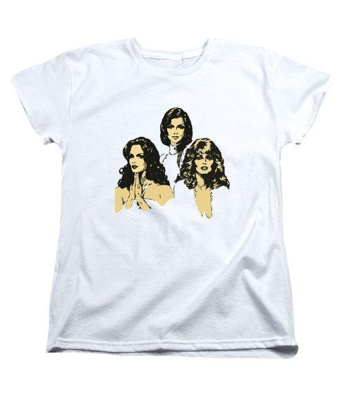 Angels Women's T-Shirt (Standard Cut) by Julio Lopez