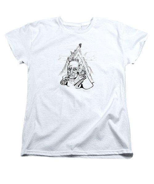 Anna Tylkina Women's T-Shirt (Standard Cut) by Yelena Tylkina