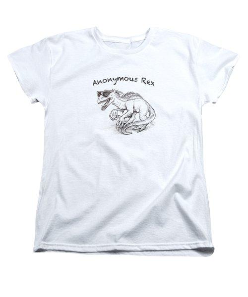 Anonymous Rex T-shirt Women's T-Shirt (Standard Cut)