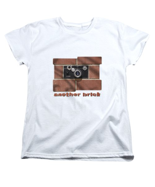 Women's T-Shirt (Standard Cut) featuring the drawing Another Brick . . 2 by Mike McGlothlen