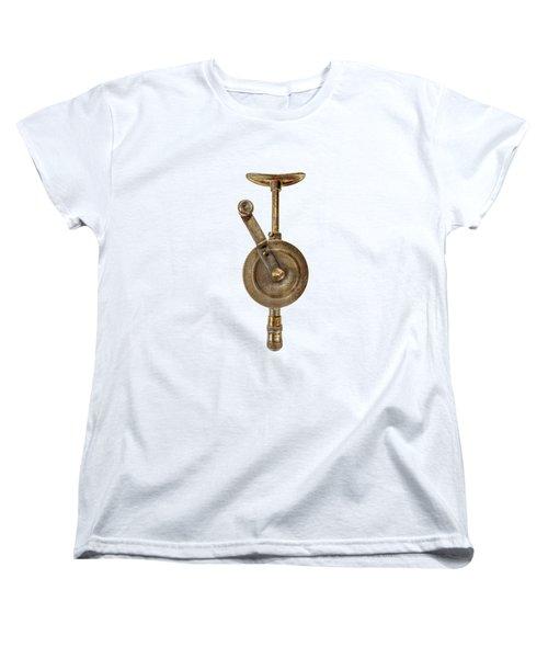 Antique Shoulder Drill Front Side Women's T-Shirt (Standard Fit)