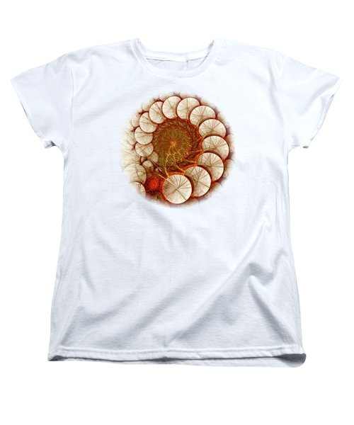 Apple Cinnamon Women's T-Shirt (Standard Cut) by Anastasiya Malakhova