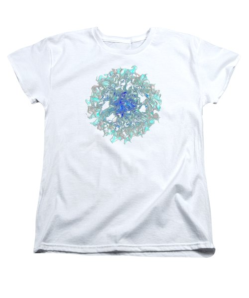 Aqua Art By Kaye Menner Women's T-Shirt (Standard Cut) by Kaye Menner