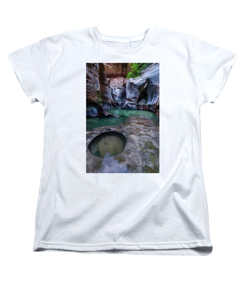 Women's T-Shirt (Standard Cut) featuring the photograph Aquamarine  by Dustin LeFevre