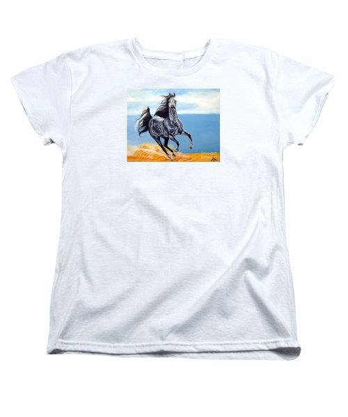 Arabian Dreams Women's T-Shirt (Standard Cut) by Cheryl Poland