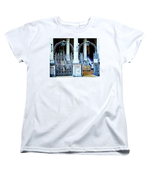 Arched Entrance In Mumbai Women's T-Shirt (Standard Cut) by Marion McCristall