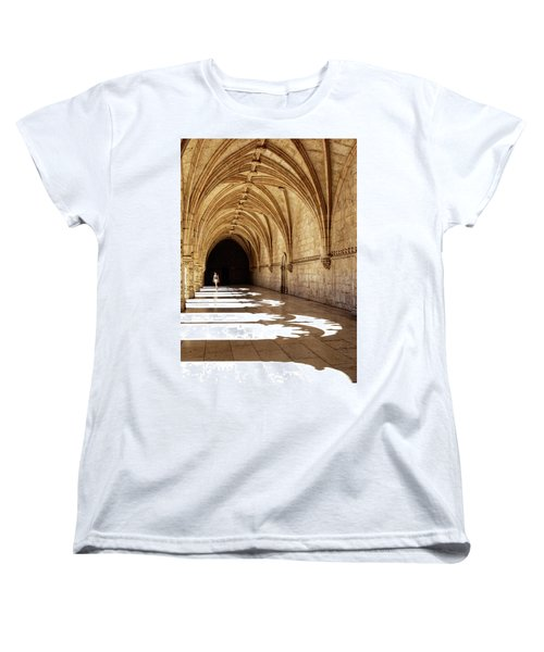Arches Of Jeronimos Women's T-Shirt (Standard Cut) by Marion McCristall