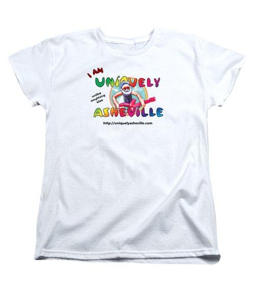 Are You Uniquely Asheville Women's T-Shirt (Standard Cut) by John Haldane
