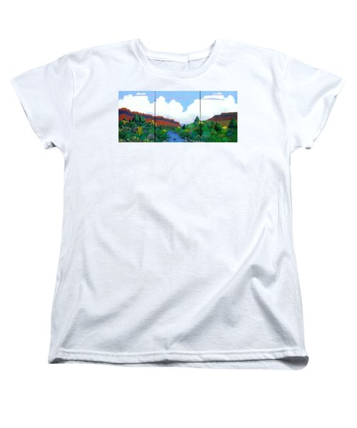 Arizona Sky Women's T-Shirt (Standard Cut) by Bernard Goodman