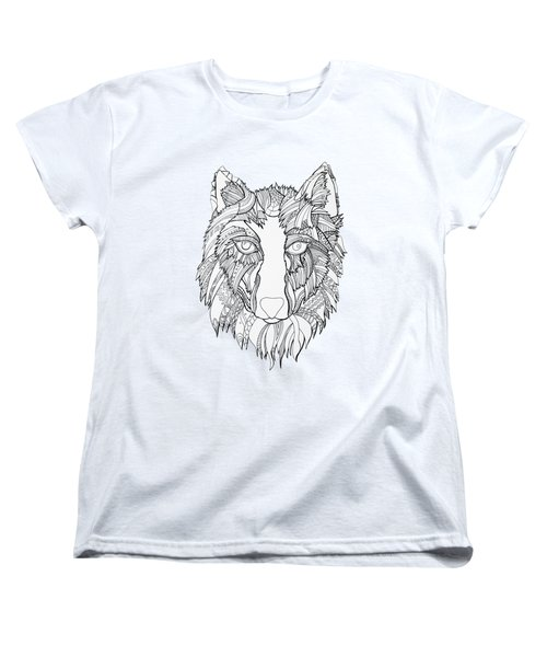 Arnou The Wolf Women's T-Shirt (Standard Cut) by Chikkas By Fran Galea