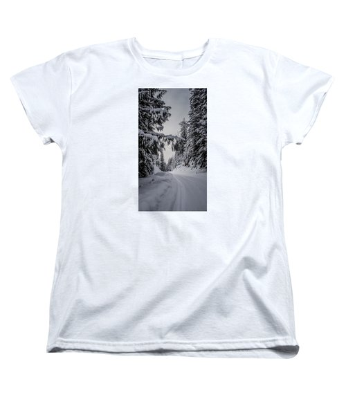 Around The Bend Women's T-Shirt (Standard Cut) by Albert Seger