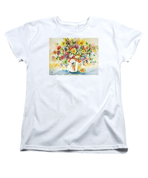 Arrangement IIi Women's T-Shirt (Standard Cut) by Alexandra Maria Ethlyn Cheshire