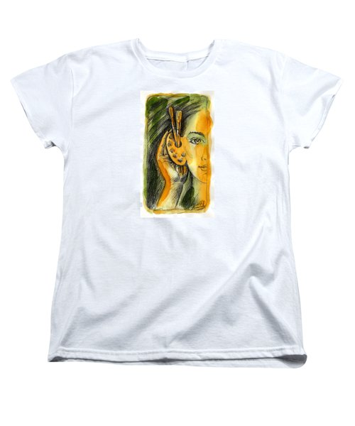 Art Of Listening Women's T-Shirt (Standard Cut) by Leon Zernitsky