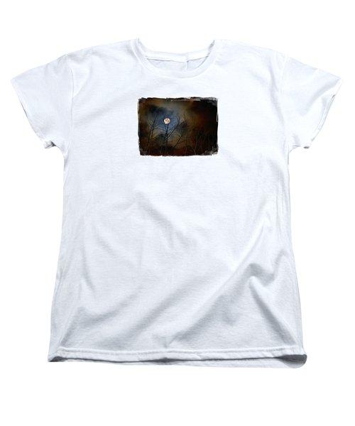 Artsy Moon Women's T-Shirt (Standard Cut) by Lila Fisher-Wenzel