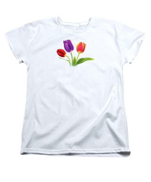 Tulip Trio Women's T-Shirt (Standard Cut)