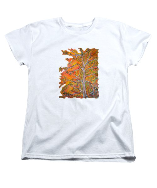 Nature's Energy Women's T-Shirt (Standard Cut) by Deborha Kerr