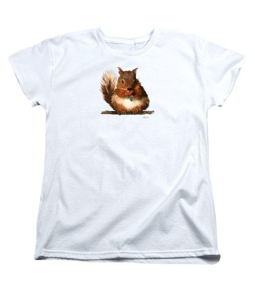 Young Squirrel Women's T-Shirt (Standard Cut)