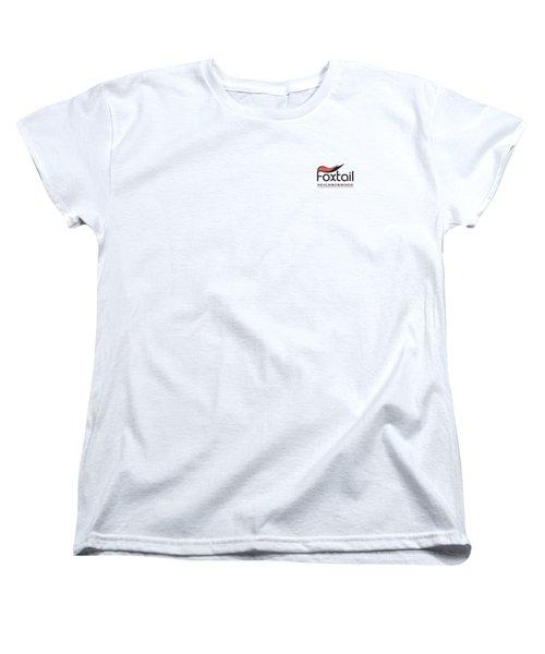 Foxtail Logo Women's T-Shirt (Standard Cut) by Arthur Fix