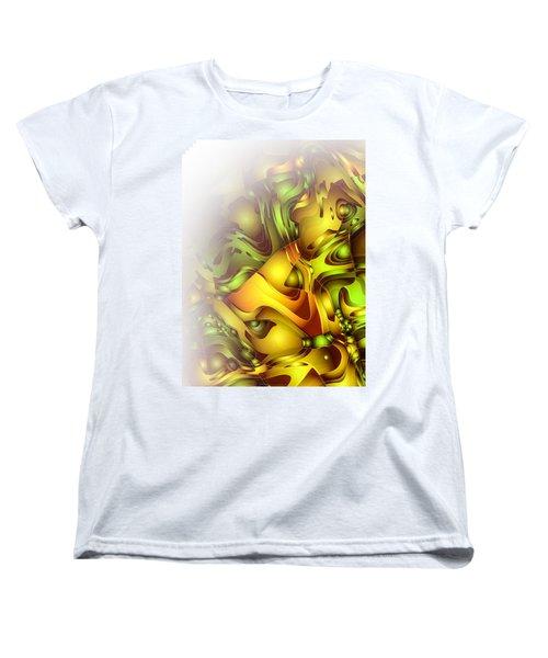 The Sweet Fantasy Women's T-Shirt (Standard Cut) by Moustafa Al Hatter