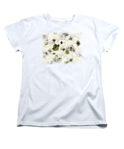 Neural Network Women's T-Shirt (Standard Cut) by Anastasiya Malakhova