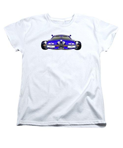 Dual Ghia Women's T-Shirt (Standard Cut) by Rafael Salazar