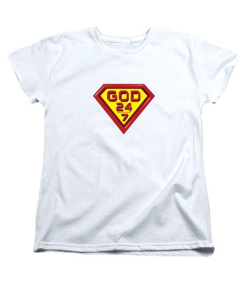3 D Red/yellow Designer Design Women's T-Shirt (Standard Cut)