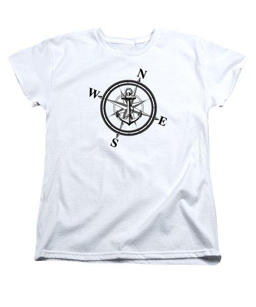 Nautica Bw Women's T-Shirt (Standard Cut) by Nicklas Gustafsson
