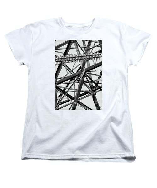 What's Your Angle Women's T-Shirt (Standard Cut) by Bill Kesler