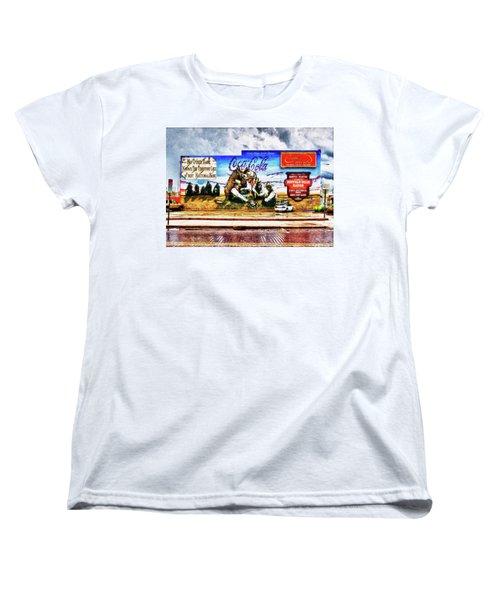 Large North Platte Wall Mural Women's T-Shirt (Standard Cut) by Bill Kesler