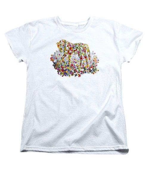 As One Women's T-Shirt (Standard Cut) by Kume Bryant
