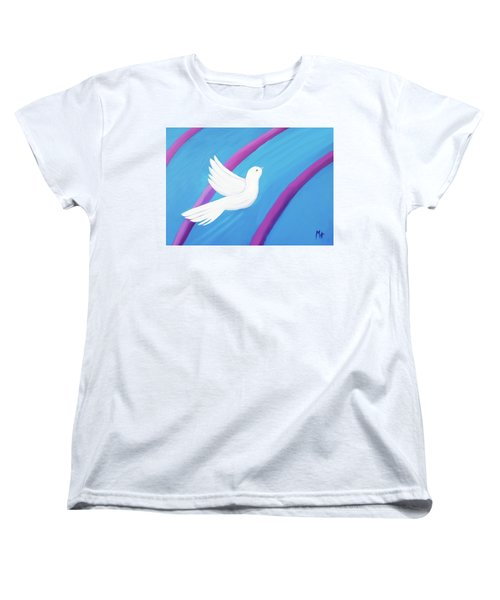 Ascending Women's T-Shirt (Standard Cut) by Margaret Harmon