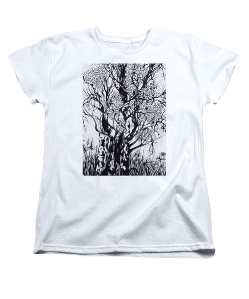 Aspens Women's T-Shirt (Standard Cut) by Anna  Duyunova