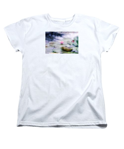 At Claude Monet's Water Garden 12 Women's T-Shirt (Standard Cut) by Dubi Roman