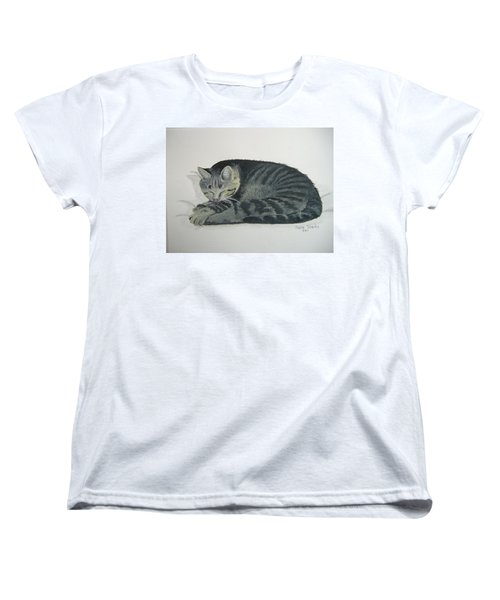 Women's T-Shirt (Standard Cut) featuring the painting At Rest by Norm Starks