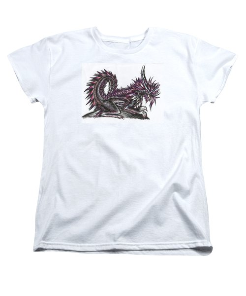 Atma Weapon Catoblepas Fusion Women's T-Shirt (Standard Cut) by Shawn Dall