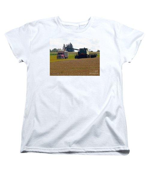 August Harvest Women's T-Shirt (Standard Cut) by J McCombie