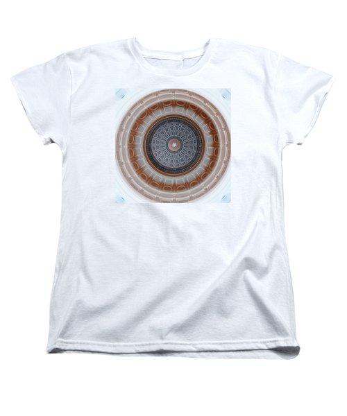 Austin Dome In Gray/brown Women's T-Shirt (Standard Cut) by Karen J Shine