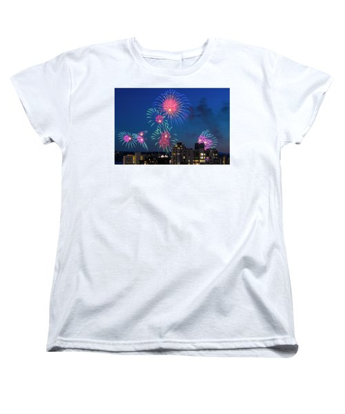 Australia 1 Women's T-Shirt (Standard Cut) by Ross G Strachan