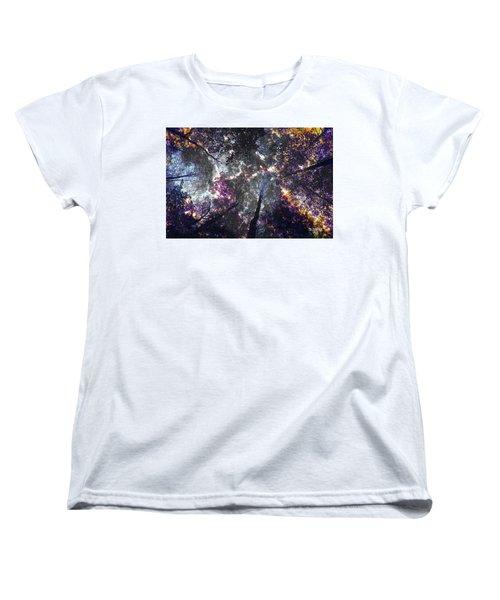 Autumn Abstract Women's T-Shirt (Standard Cut) by David Stasiak