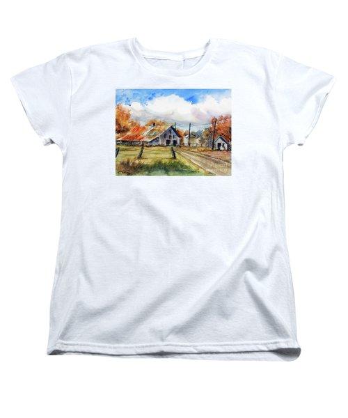 Autumn At The Farm Women's T-Shirt (Standard Cut)