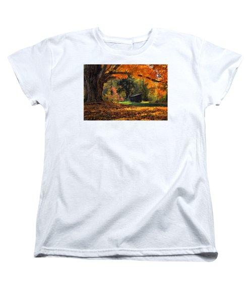 Autumn Brilliance Women's T-Shirt (Standard Cut) by Tricia Marchlik