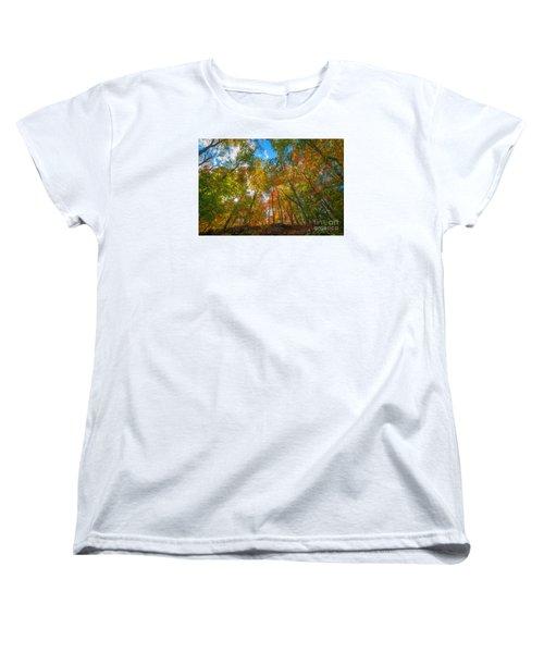 Autumn Colors  Women's T-Shirt (Standard Cut) by Michael Ver Sprill
