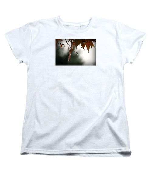 Autumn Raindrops Women's T-Shirt (Standard Cut)