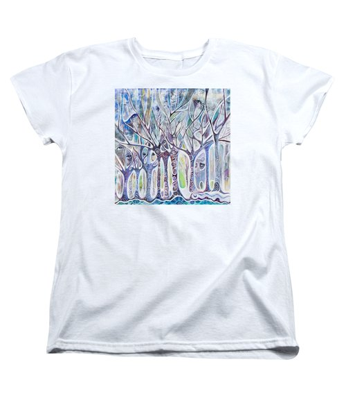 Awareness Women's T-Shirt (Standard Cut) by Leela Payne