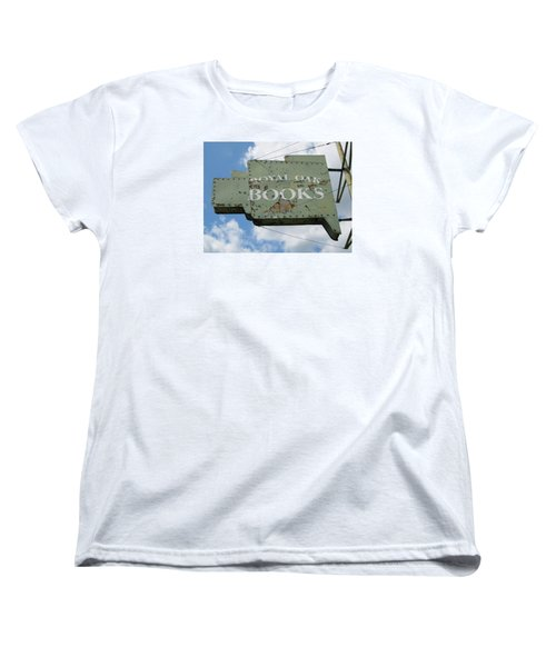 A Sign Of The Times Women's T-Shirt (Standard Cut) by Sandra Church
