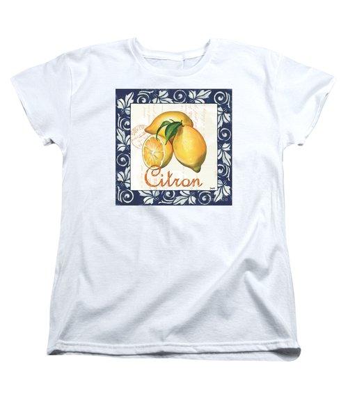 Azure Lemon 2 Women's T-Shirt (Standard Cut) by Debbie DeWitt