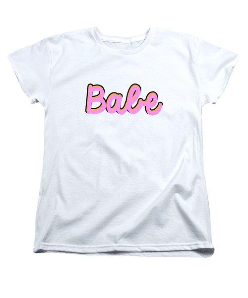 Babe Women's T-Shirt (Standard Fit)