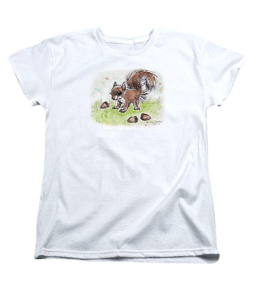 Baby Squirrel Women's T-Shirt (Standard Cut)