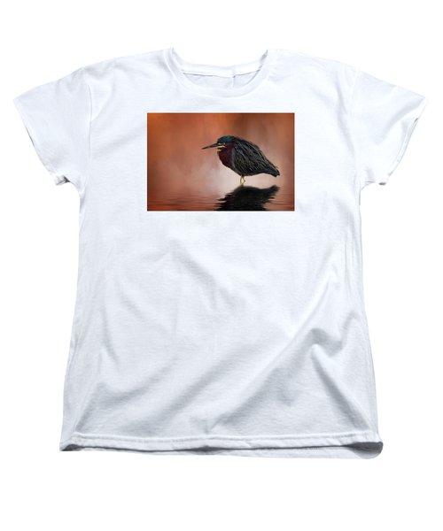 Bah, Humbug Women's T-Shirt (Standard Cut) by Cyndy Doty
