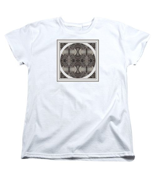 Balance Expressed In Black And White Women's T-Shirt (Standard Cut) by Jack Dillhunt